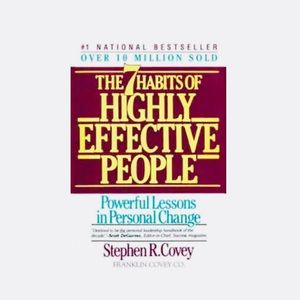 2/$20 The seven habits of highly effective people